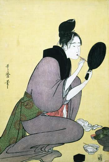 De l'existence des correcteurs dans Arts et métiers du livre et de l'édition Utamaro_1795